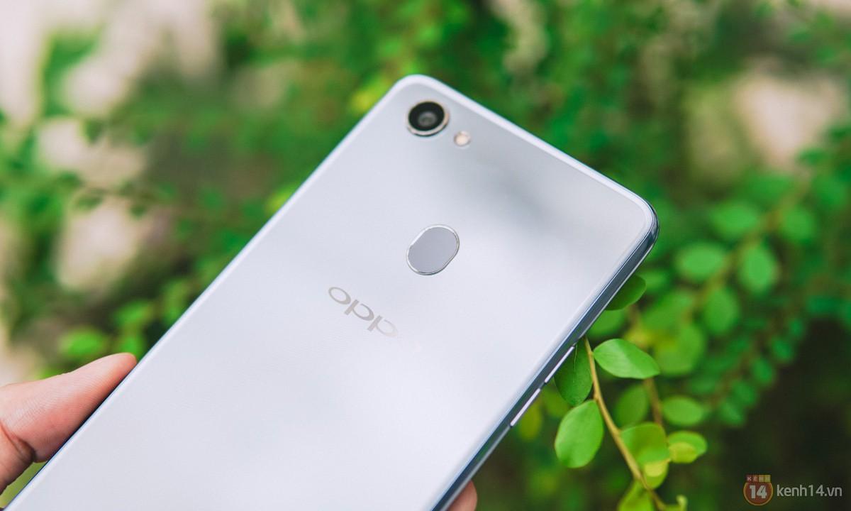 Mở hộp OPPO F7 màu bạc lấp lánh: Selfie bằng AI cực đẹp, màn hình FullView kèm tai thỏ như iPhone X - Ảnh 13.