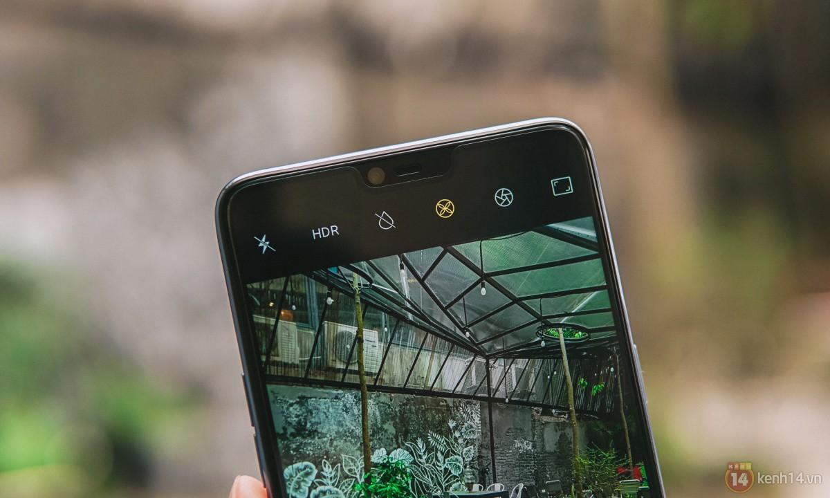 Mở hộp OPPO F7 màu bạc lấp lánh: Selfie bằng AI cực đẹp, màn hình FullView kèm tai thỏ như iPhone X - Ảnh 19.