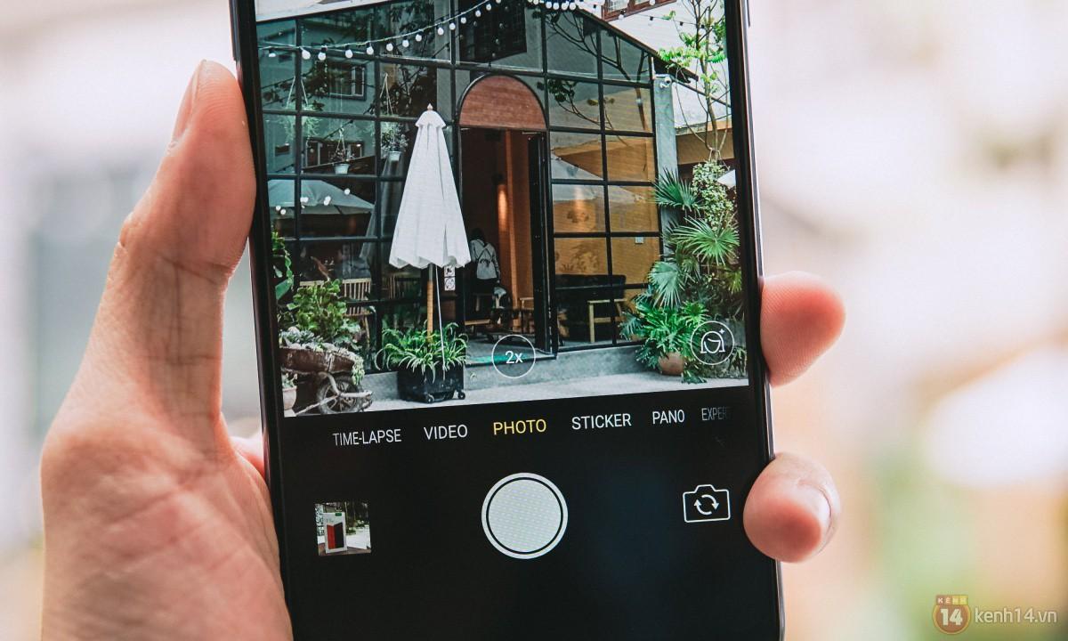 Mở hộp OPPO F7 màu bạc lấp lánh: Selfie bằng AI cực đẹp, màn hình FullView kèm tai thỏ như iPhone X - Ảnh 18.