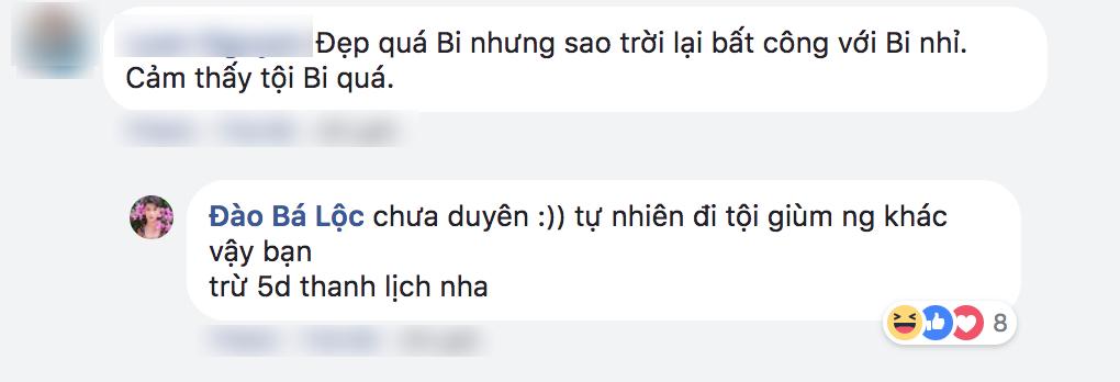 Fan bình luận đẹp nhưng tội quá, Đào Bá Lộc chẳng e dè đáp trả - Ảnh 2.