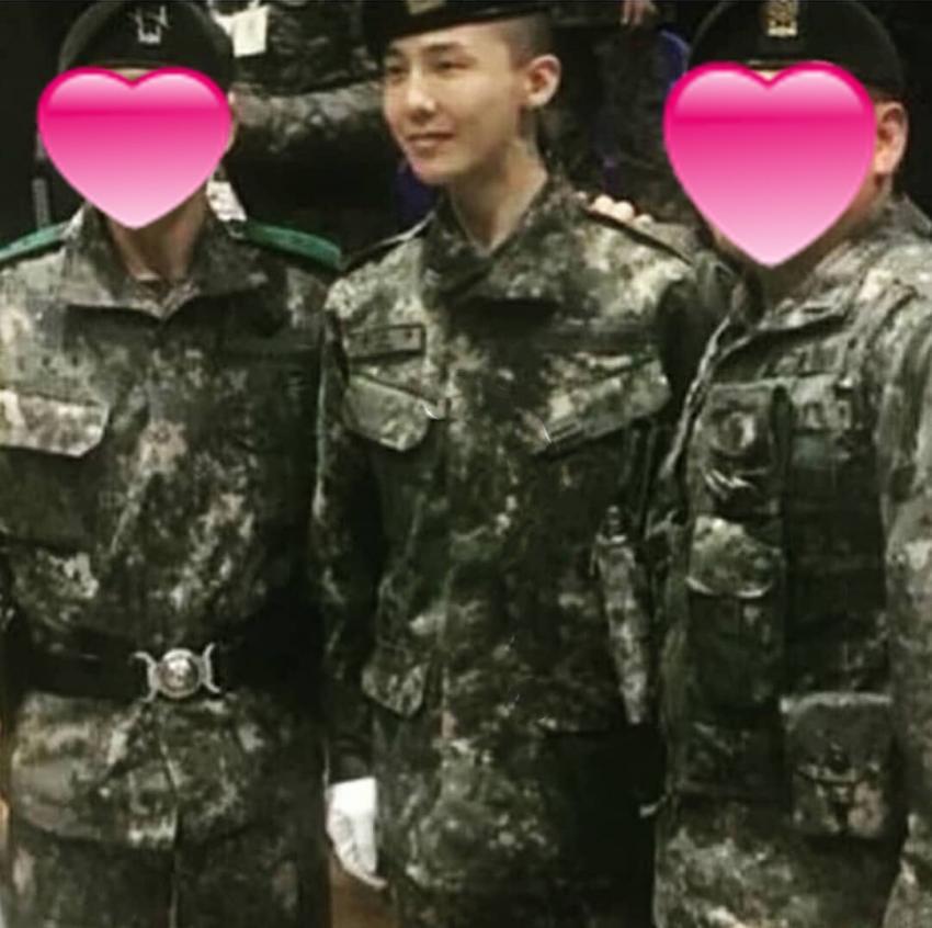 Là trợ lý huấn luyện cùng đơn vị, tài tử Yong Pal gây bất ngờ khi nhận xét thẳng thắn về G-Dragon - Ảnh 3.