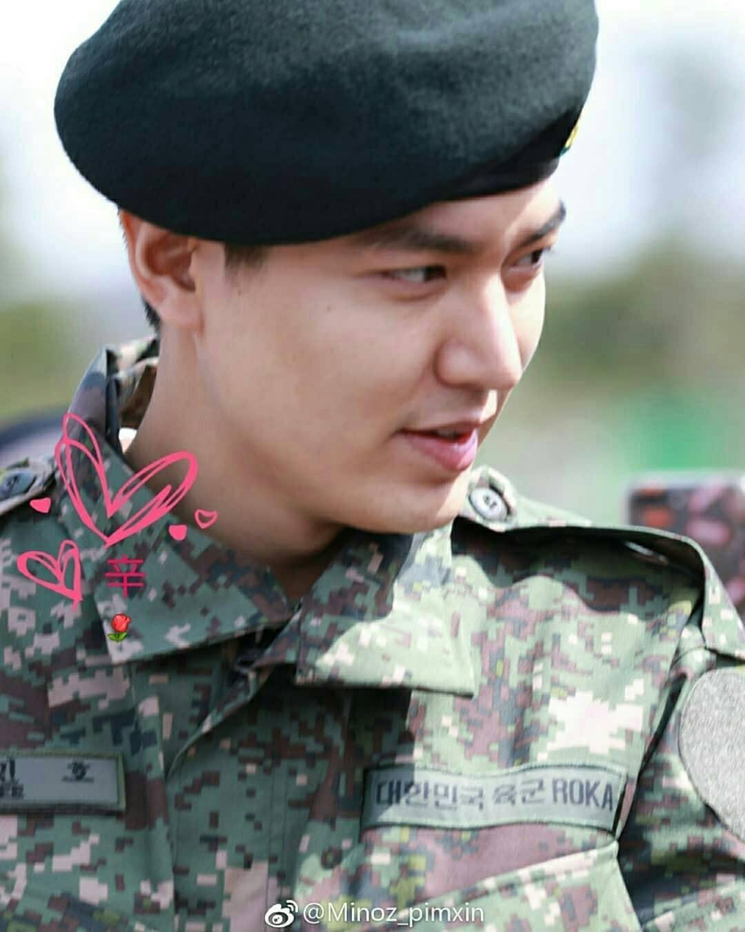 Tài tử Lee Min Ho béo phù cả mặt, ngày càng xuống sắc khi để nhan sắc mộc 100% trong quân ngũ - Ảnh 3.