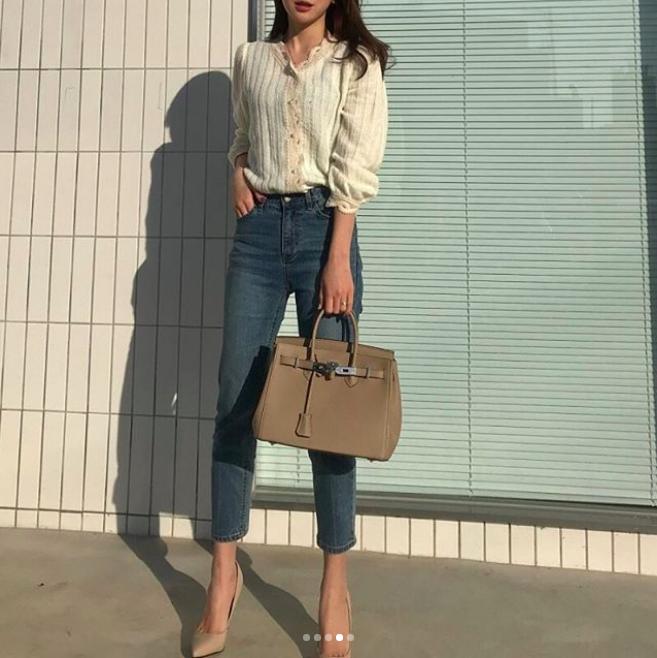 Định mặc quần jeans ống đứng, các nàng hãy chọn 1 trong 4 combo cứ lên đồ là đẹp miễn chê này - Ảnh 17.