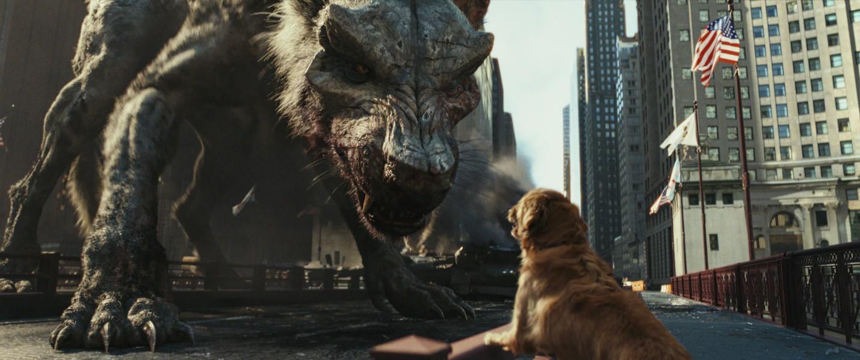 """Ngắm nhìn The Rock so cơ cùng quái thú trong bom tấn xôi thịt """"Rampage"""" - Ảnh 7."""