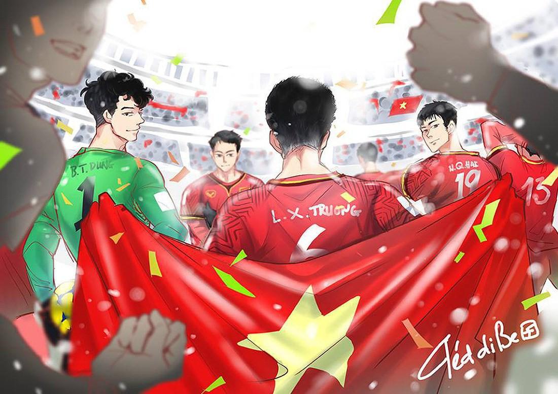 Fan hâm mộ mua hẳn 1 ngôi sao trên trời dành tặng U23 Việt Nam! - Ảnh 4.