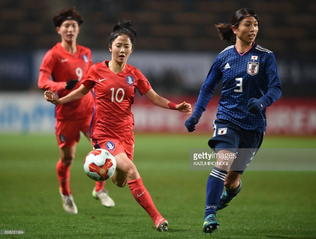 Cầu thủ Hàn Quốc đá bóng giỏi lại xinh như hot girl, có thể kết