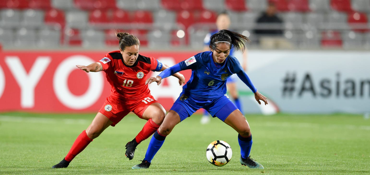 Tuyển nữ Thái Lan lần thứ 2 liên tiếp giành vé World Cup - Ảnh 1.
