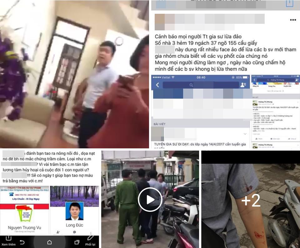 Hà Nội: Giám đốc đánh nữ sinh viên nhập viện vì đến đòi lại tiền cọc sau một tháng không được nhận lớp gia sư - Ảnh 1.