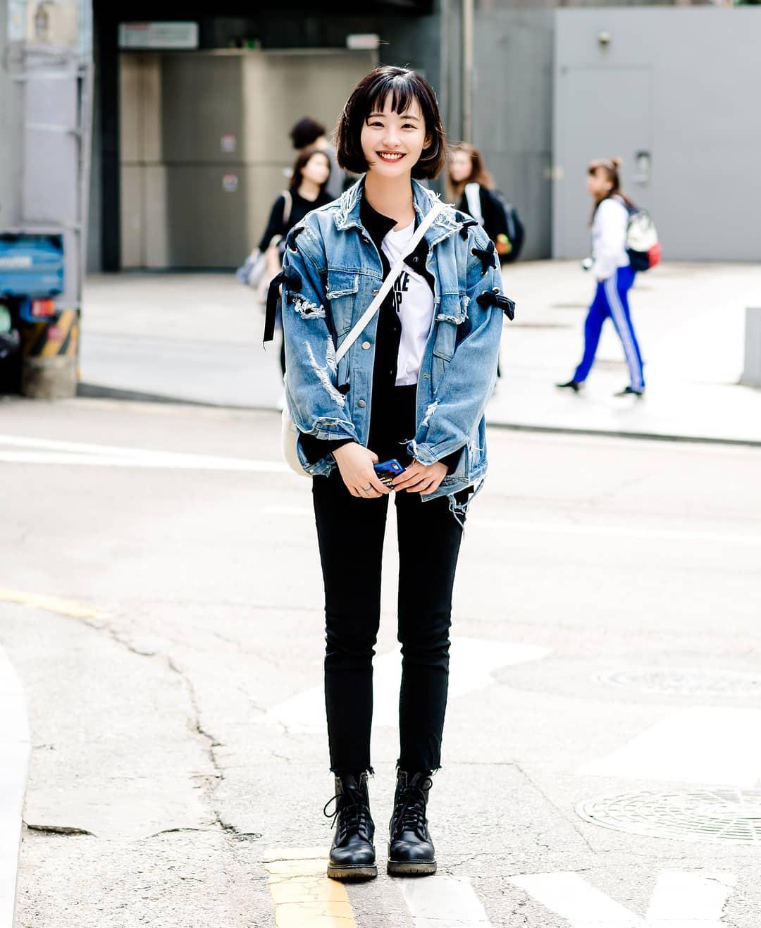 Street style của con gái Hàn tuần qua: chẳng cầu kỳ mà đẹp phát mê, ai xem xong cũng dễ crush - Ảnh 6.