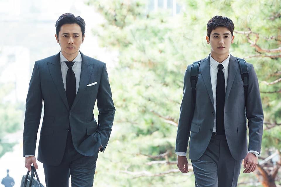 Khoảnh khắc cực phẩm: Jang Dong Gun và Park Hyung Sik đã đẹp, lại còn dựa vào nhau tình bể bình - Ảnh 6.