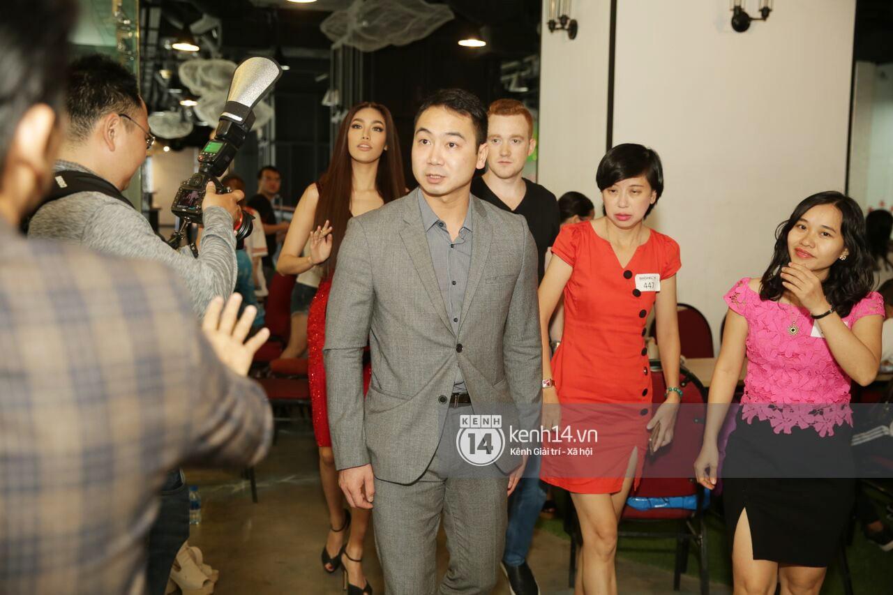Lan Khuê cùng bạn trai tin đồn xuất hiện tại buổi casting show hẹn hò The Bachelor miền Nam - Ảnh 3.