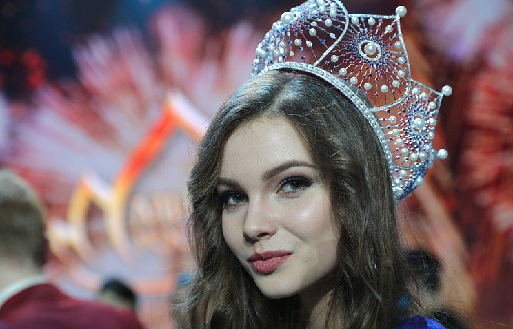 Sắc đẹp mỹ miều nhìn là mê luôn của Tân Hoa hậu Nga vừa đăng quang - Ảnh 1.