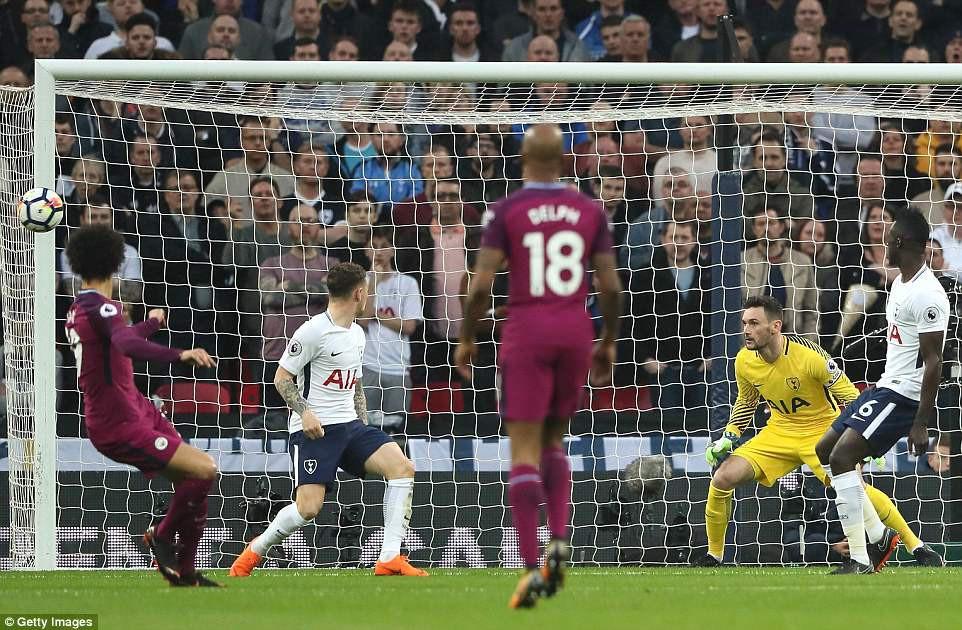 Man City đánh bại Tottenham, chạm tay vào ngôi vô địch - Ảnh 5.