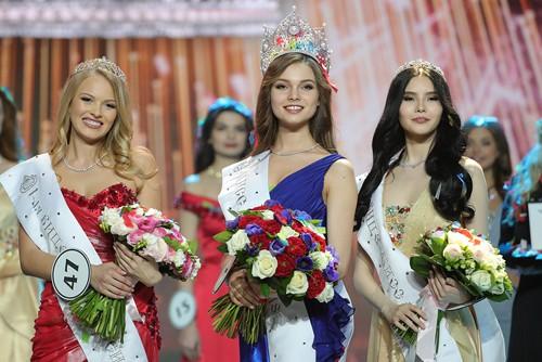 Sắc đẹp mỹ miều nhìn là mê luôn của Tân Hoa hậu Nga vừa đăng quang - Ảnh 3.