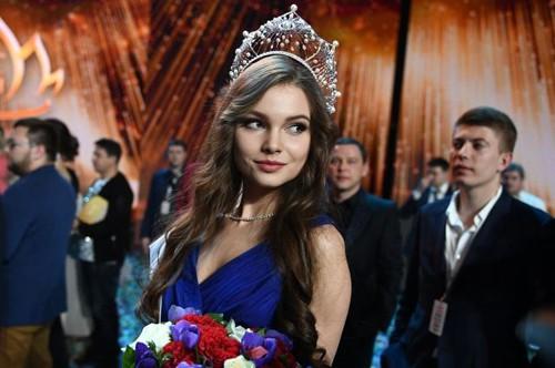 Sắc đẹp mỹ miều nhìn là mê luôn của Tân Hoa hậu Nga vừa đăng quang - Ảnh 5.