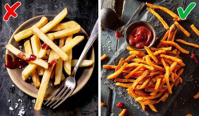 Không muốn bị tăng cân vù vù thì bạn nên thay thế những món khoái khẩu này bằng các thực phẩm lành mạnh hơn - Ảnh 7.