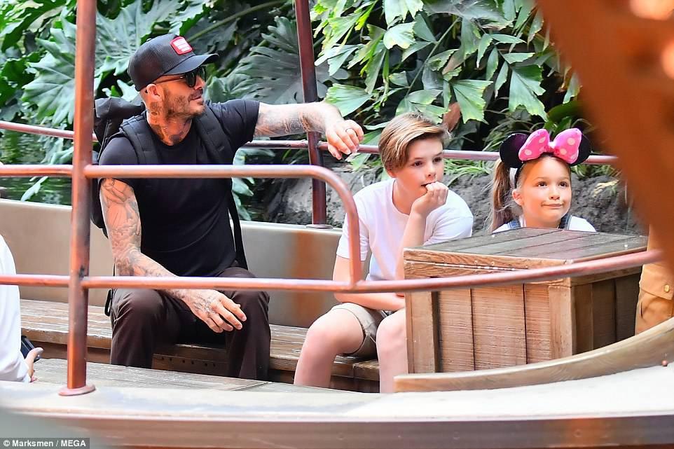 Các con nhà Beckham đều đã cực cao lớn, đặc biệt Harper cho thấy tiềm năng trở thành siêu mẫu - Ảnh 12.