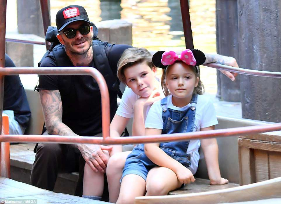 Các con nhà Beckham đều đã cực cao lớn, đặc biệt Harper cho thấy tiềm năng trở thành siêu mẫu - Ảnh 11.