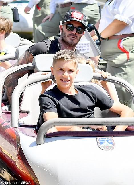 Các con nhà Beckham đều đã cực cao lớn, đặc biệt Harper cho thấy tiềm năng trở thành siêu mẫu - Ảnh 7.