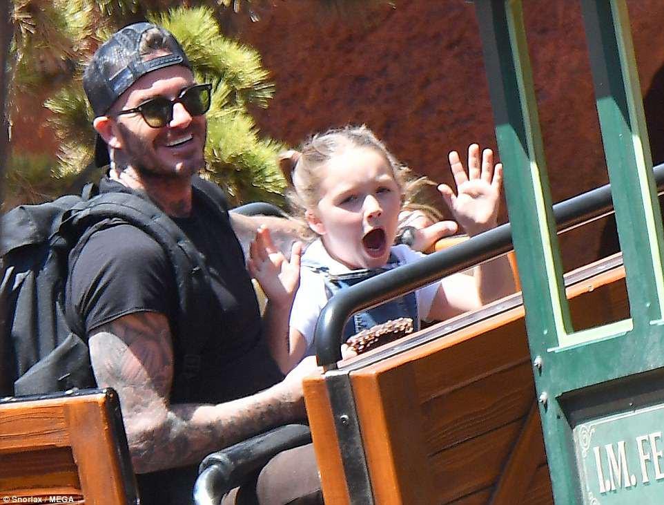 Các con nhà Beckham đều đã cực cao lớn, đặc biệt Harper cho thấy tiềm năng trở thành siêu mẫu - Ảnh 10.