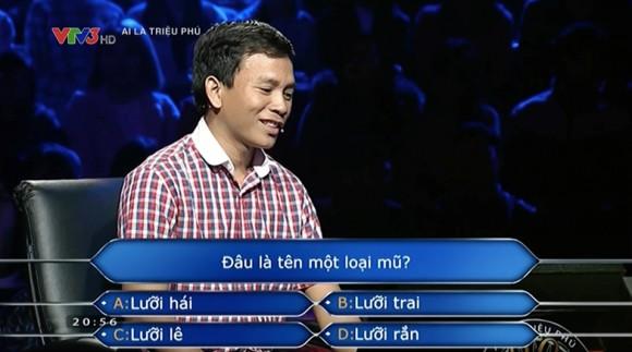 Nhìn lại loạt câu hỏi không tưởng từng làm khó người chơi Ai là triệu phú - Ảnh 1.