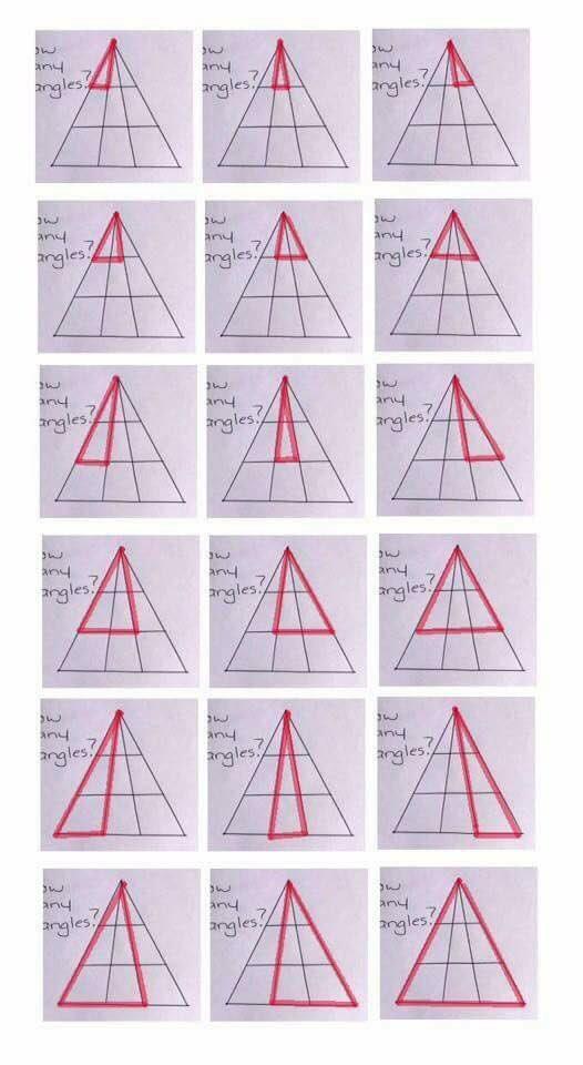Bài Toán đếm hình tam giác tưởng dễ như lớp 1 đang khiến cư dân mạng đồng loạt bối rối - Ảnh 7.