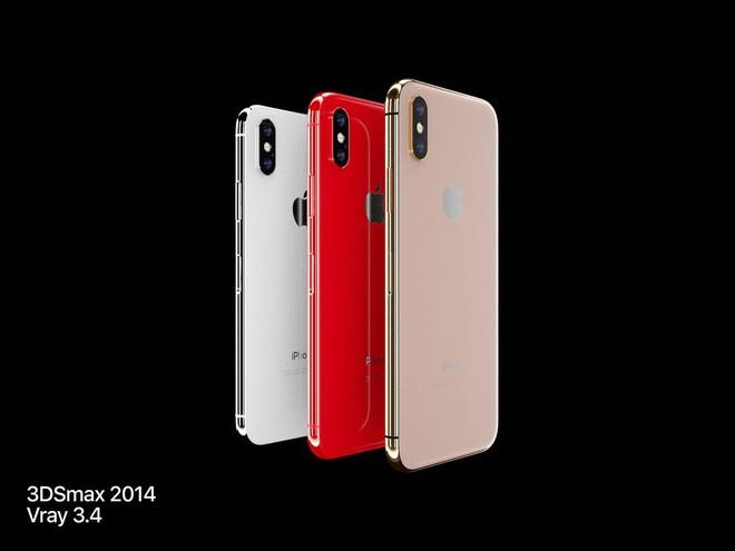 Lộ diện concept iPhone X Đỏ và Vàng Đồng đẹp mê ly đến ná thở - Ảnh 1.