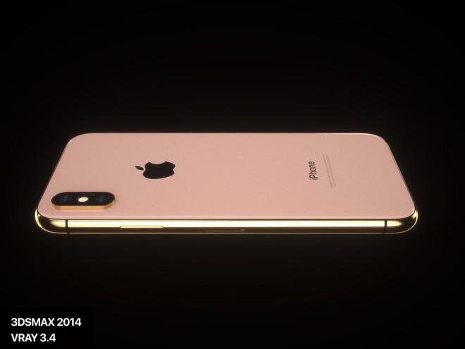 Lộ diện concept iPhone X Đỏ và Vàng Đồng đẹp mê ly đến ná thở - Ảnh 3.