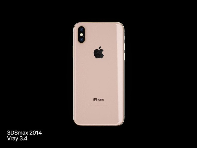 Lộ diện concept iPhone X Đỏ và Vàng Đồng đẹp mê ly đến ná thở - Ảnh 4.
