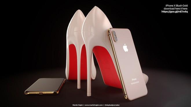 Lộ diện concept iPhone X Đỏ và Vàng Đồng đẹp mê ly đến ná thở - Ảnh 5.