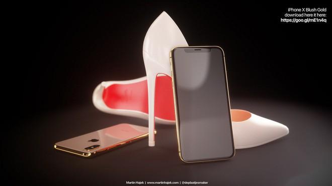 Lộ diện concept iPhone X Đỏ và Vàng Đồng đẹp mê ly đến ná thở - Ảnh 6.