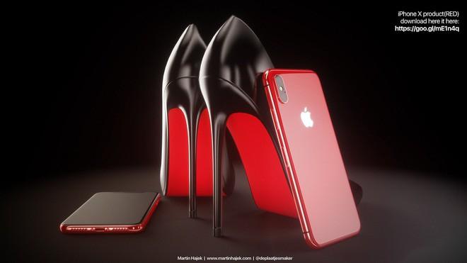 Lộ diện concept iPhone X Đỏ và Vàng Đồng đẹp mê ly đến ná thở - Ảnh 7.