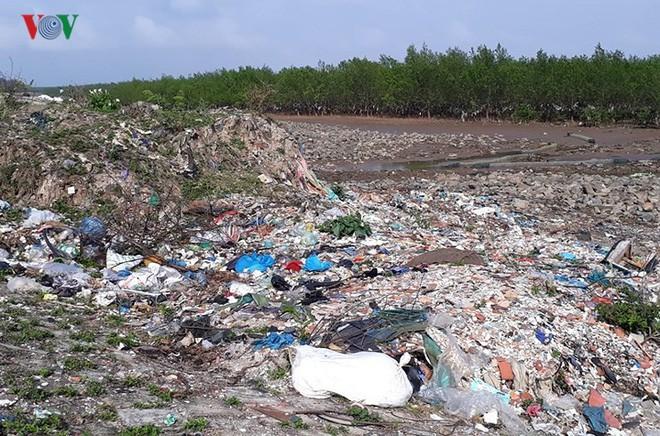 Ảnh: Kinh hoàng rừng cây treo đầy rác ở Thanh Hoá - Ảnh 8.