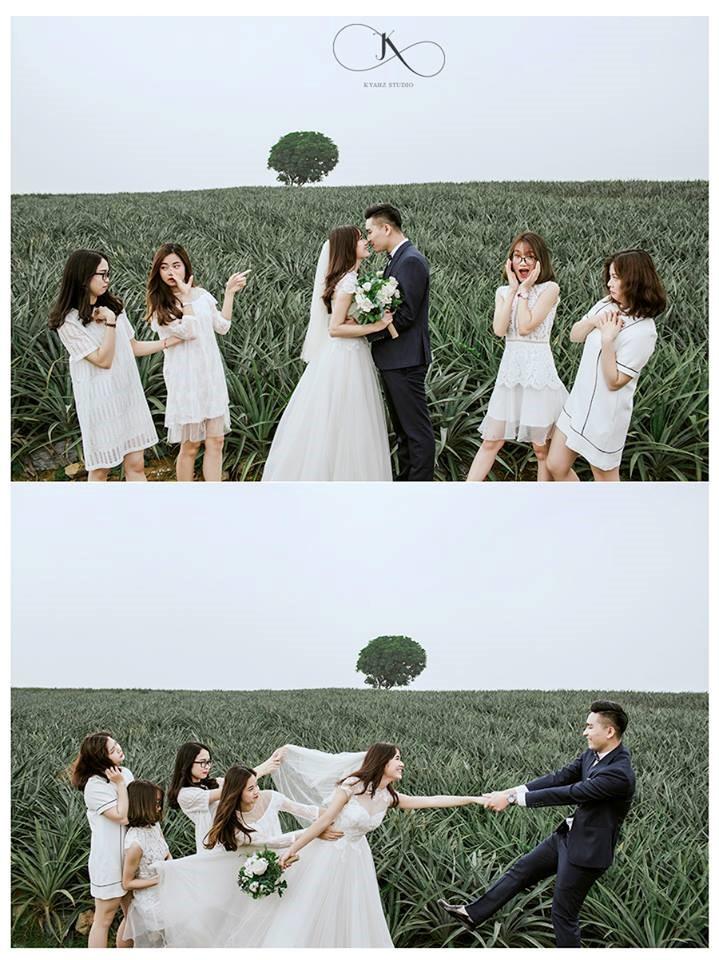 """Dân tình phát sốt với bộ ảnh cưới trong trẻo """"Vẽ giấc mơ tình yêu"""" trên cánh đồng dứa Ninh Bình - Ảnh 10."""
