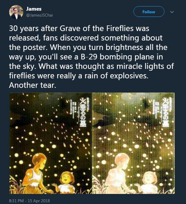 Sau hơn 30 năm, sự thật đau lòng về bức tranh Mộ Đom Đóm được tiết lộ - Ảnh 5.