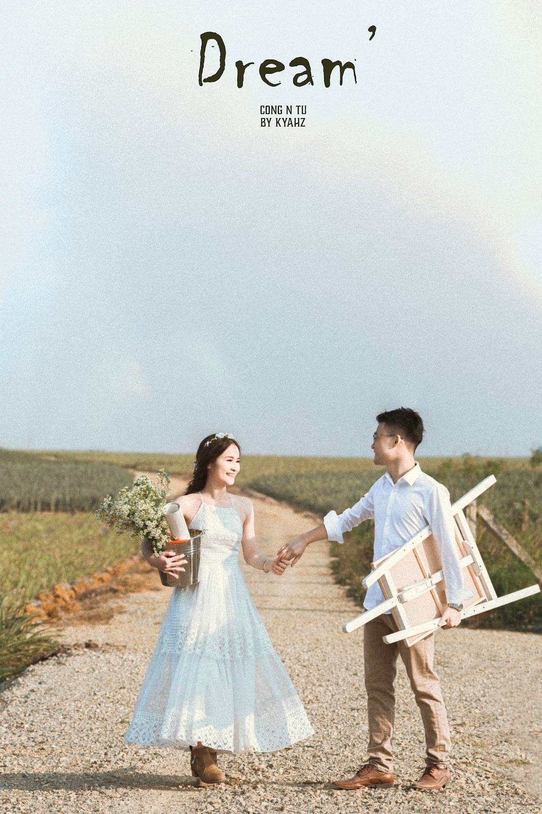 """Dân tình phát sốt với bộ ảnh cưới trong trẻo """"Vẽ giấc mơ tình yêu"""" trên cánh đồng dứa Ninh Bình - Ảnh 5."""