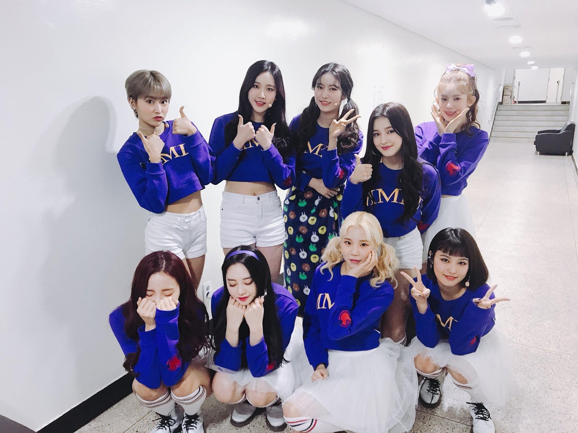 Netizen Hàn đồng loạt phẫn nộ vì stylist để Momoland mặc short ngắn nhưng không có quần bảo hộ - Ảnh 1.
