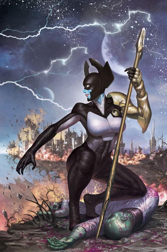 Bạn sẽ muốn… đổi phe khi nhìn thấy nhan sắc thật sự của nữ tướng phản diện trong Infinity War! - Ảnh 2.