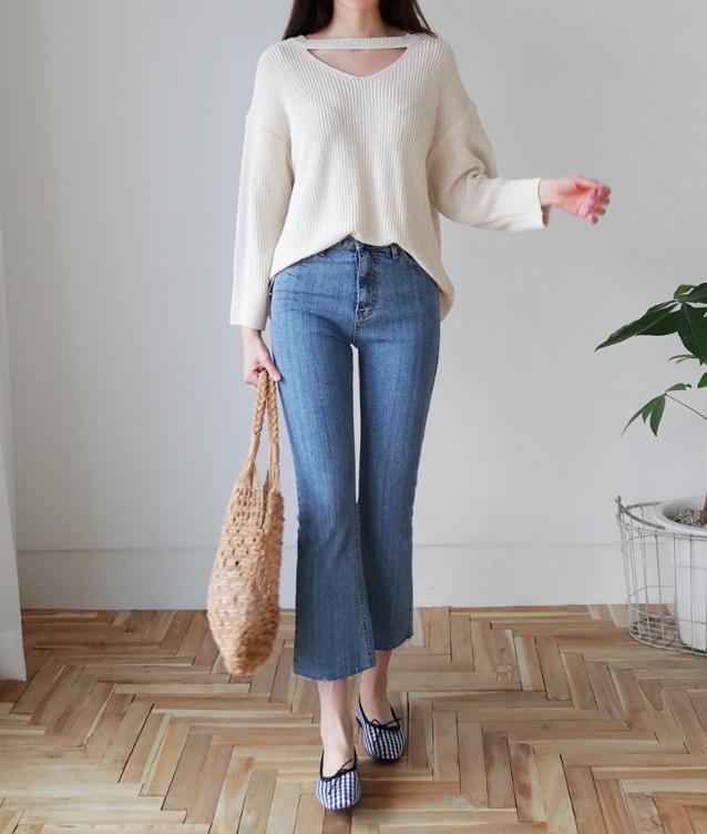 4 lưu ý giúp bạn diện quần jeans ống vẩy max đẹp - Ảnh 5.