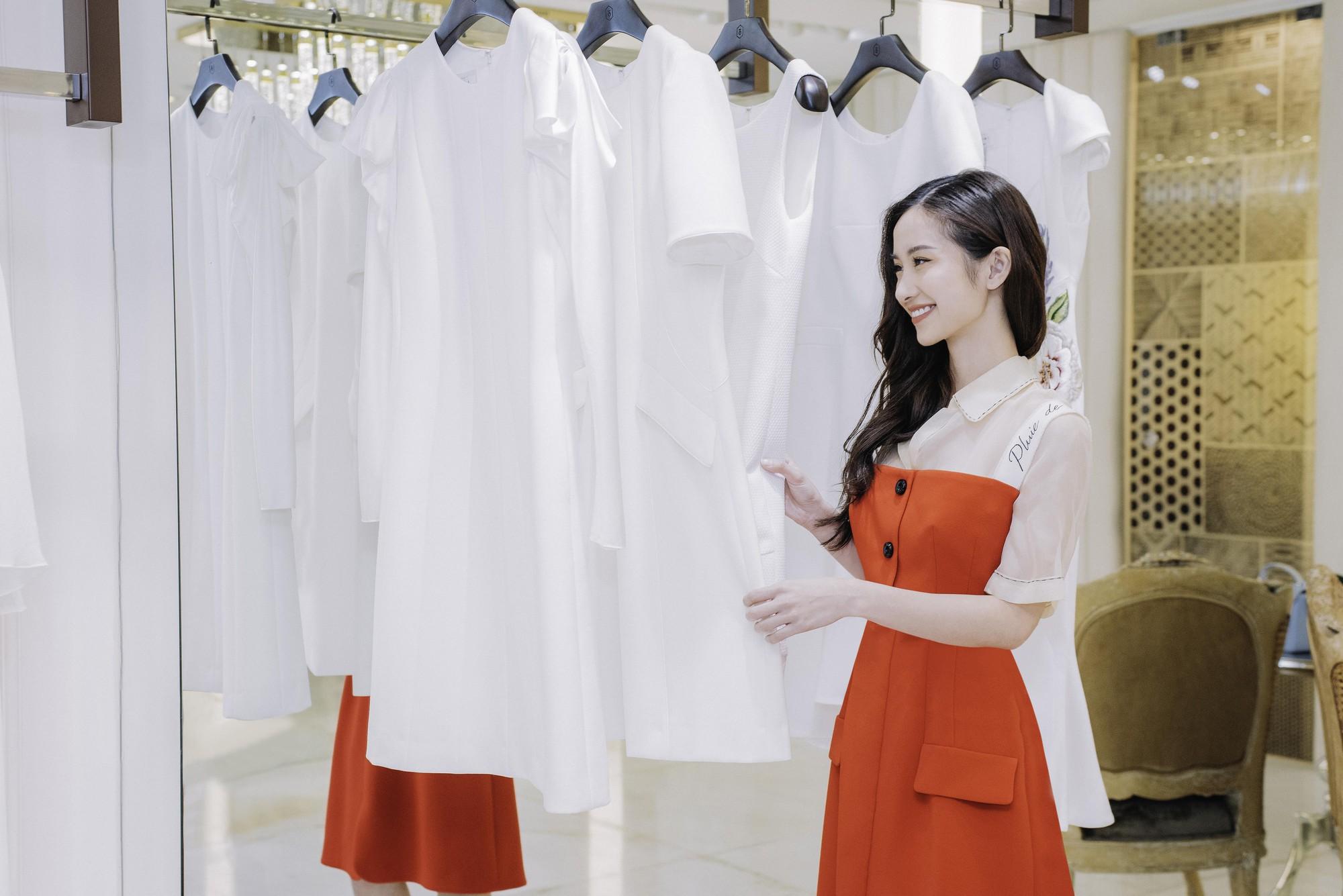 Đỗ Mỹ Linh, Jun Vũ, Quỳnh Anh Shyn cùng loạt sao tất bật lên đồ, chuẩn bị đọ sắc tại show của NTK Công Trí - Ảnh 4.