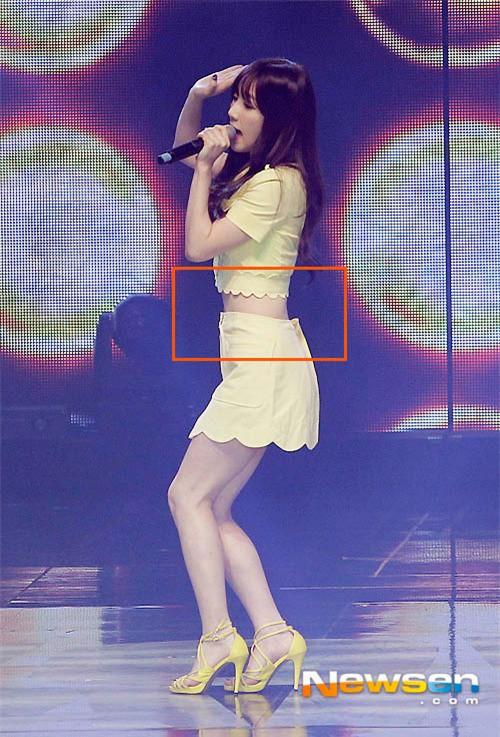 Dáng đẹp quá cũng khổ, Taeyeon lúc nào cũng chật vật với chân váy và shorts vì vòng eo siêu bé - Ảnh 4.