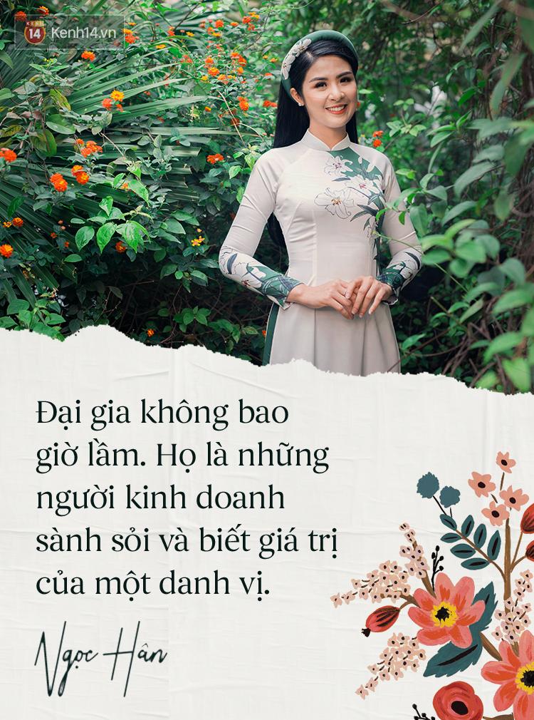 Hoa hậu Ngọc Hân: Nhiều người thắc mắc sao tôi chơi chung được với hai người ghét nhau - Ảnh 2.
