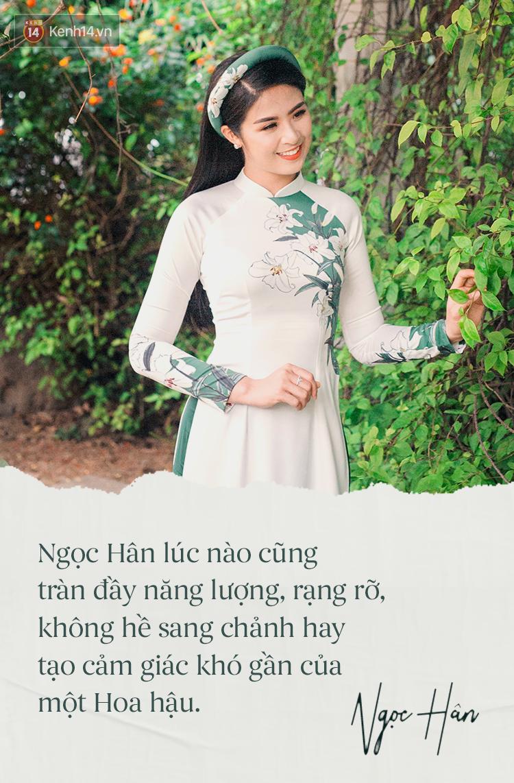 Hoa hậu Ngọc Hân: Nhiều người thắc mắc sao tôi chơi chung được với hai người ghét nhau - Ảnh 5.