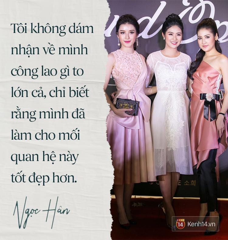 Hoa hậu Ngọc Hân: Nhiều người thắc mắc sao tôi chơi chung được với hai người ghét nhau - Ảnh 6.