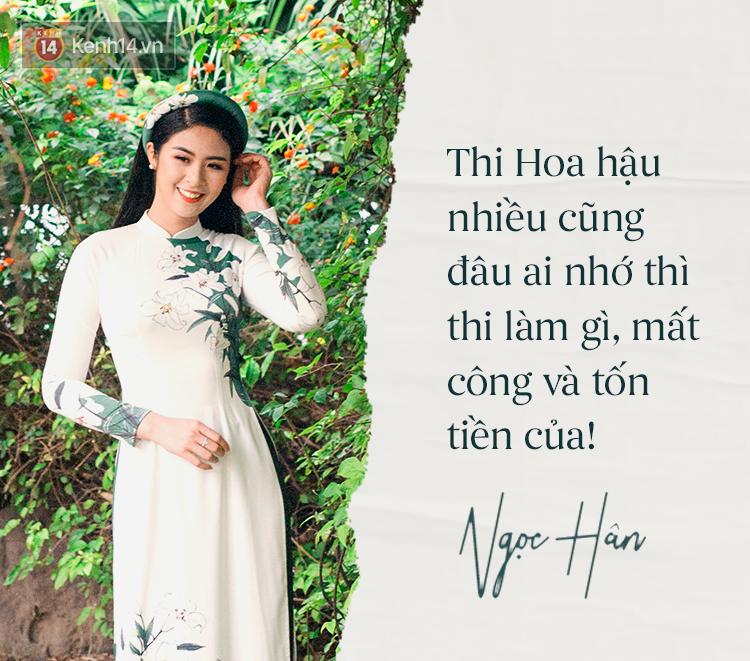 Hoa hậu Ngọc Hân: Nhiều người thắc mắc sao tôi chơi chung được với hai người ghét nhau - Ảnh 8.