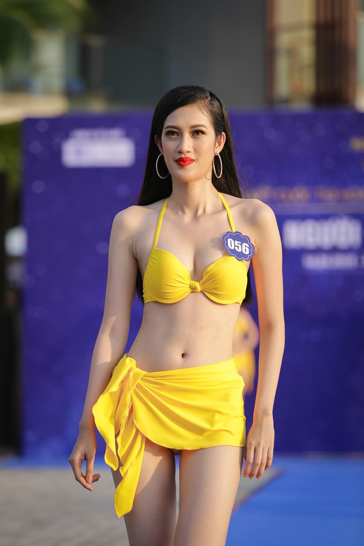 Không chỉ bị thanh tra, thí sinh Hoa hậu Biển Việt Nam toàn cầu 2018 còn lộ nhan sắc kém xinh trước thềm chung kết - Ảnh 3.