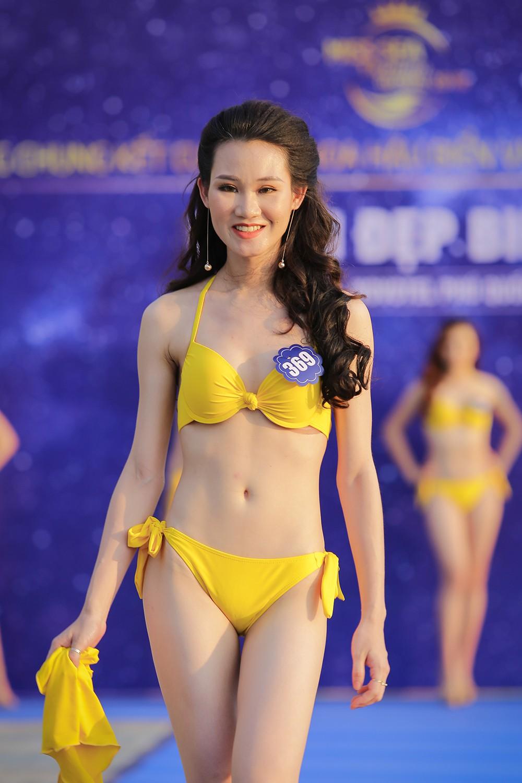 Không chỉ bị thanh tra, thí sinh Hoa hậu Biển Việt Nam toàn cầu 2018 còn lộ nhan sắc kém xinh trước thềm chung kết - Ảnh 2.