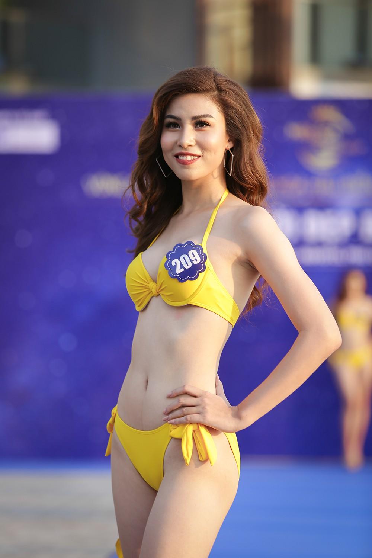 Không chỉ bị thanh tra, thí sinh Hoa hậu Biển Việt Nam toàn cầu 2018 còn lộ nhan sắc kém xinh trước thềm chung kết - Ảnh 6.