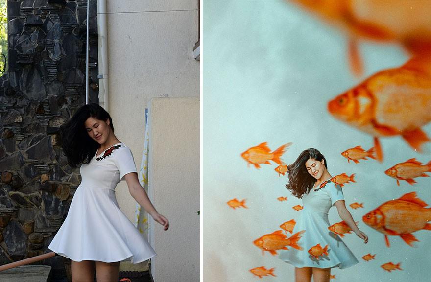 Tài năng Photoshop thượng thừa, cô nàng biến bộ ảnh vườn nhà thành những kiệt tác nghệ thuật - Ảnh 15.