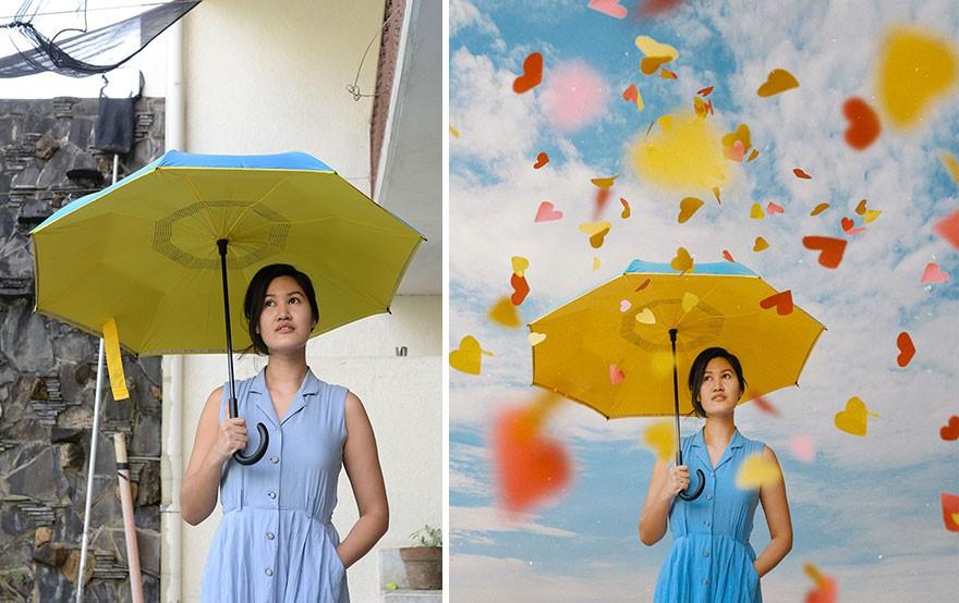 Tài năng Photoshop thượng thừa, cô nàng biến bộ ảnh vườn nhà thành những kiệt tác nghệ thuật - Ảnh 7.